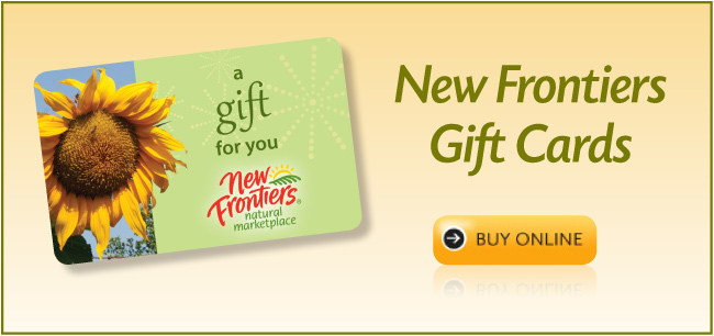 New Frontiers Gift Cards