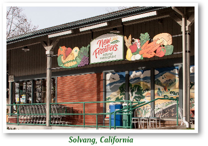 Our Solvang, California New Frontiers store