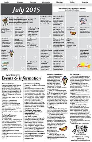 Solvang Monthly Calendar